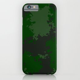 Camouflage jungle 1 iPhone Case
