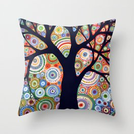 Silent Surrounding Throw Pillow