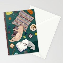 Hygge Kitten Stationery Cards
