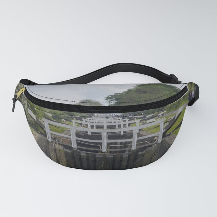 Looking up Caen Hill Fanny Pack