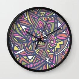 HIPPY LOVE Wall Clock
