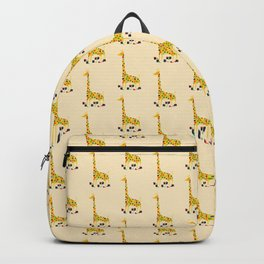 Paint by number giraffe Backpack