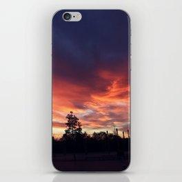 Wembley sunrise iPhone Skin