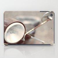 vespa iPad Cases featuring Vespa by Pedro Antunes