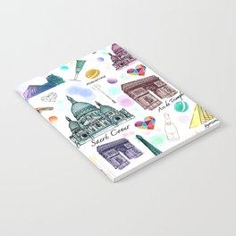 Voyage à Paris (Watercolor) Notebook