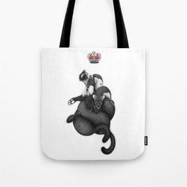 Weasel supremacy Tote Bag