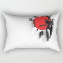 Girl from Grodno Rectangular Pillow