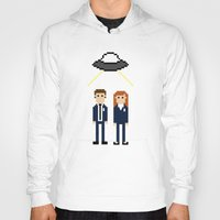 dana scully Hoodies featuring Mulder & Scully by Evelyn Gonzalez