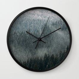 Forest me and you Wall Clock
