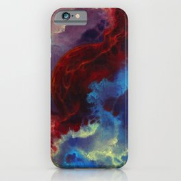 Everything begins with a spark iPhone Case