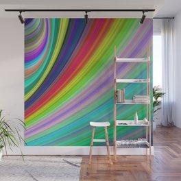 Rainbow Speed Wall Mural