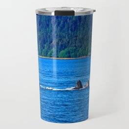 Whale Watching Travel Mug