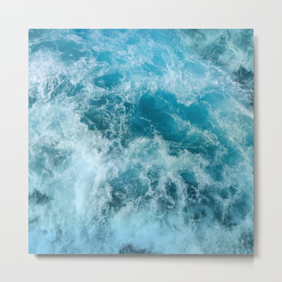 Wave Motion Metal Print