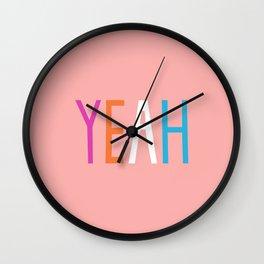 Yeah Wall Clock