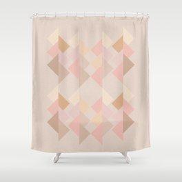 Marshmallow dance Shower Curtain