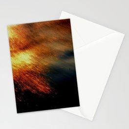 Fiery Stationery Cards