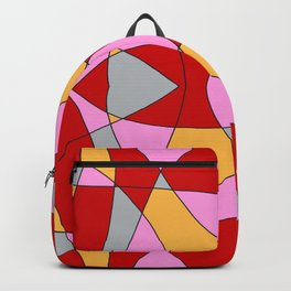 Abstract Church Window Backpack