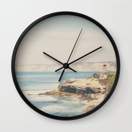 La Jolla photograph Wall Clock