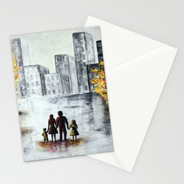 Love in the city 2 Stationery Cards
