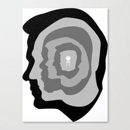 Star Trek Head Silhouettes Canvas Print