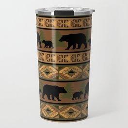 Black Bear and Cub Travel Mug