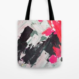 Hot Pink Franz Tote Bag