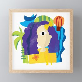 Is that Leela? Framed Mini Art Print