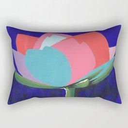 Flashy Flower Rectangular Pillow