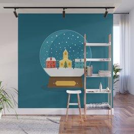 Ball Card Christmas! Wall Mural