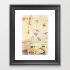 The Flower Girl Framed Art Print