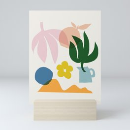 Abstraction_Floral_002 Mini Art Print