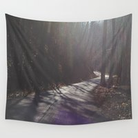 road Wall Tapestries featuring Road by Alyson Cornman Photography