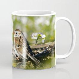 Field Sparrow Coffee Mug