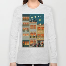 Porto Houses - Portugal Long Sleeve T-shirt