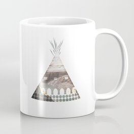Tipi Number 3 Coffee Mug