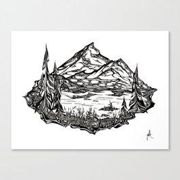 Shucksan Dream Canvas Print