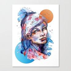 Sophia by carographic Canvas Print