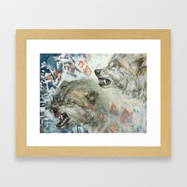 Build and Release Framed Art Print