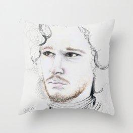 11. Snow Throw Pillow
