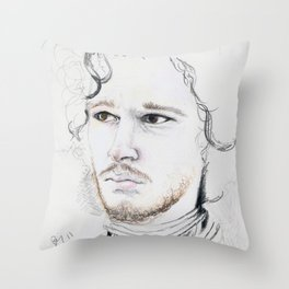 11. Snow Throw Pillow