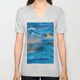 Save The Oceans, Cabo Beaches 2 Unisex V-Neck
