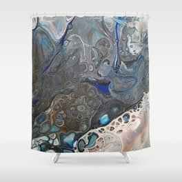 Incoming storm cloud Shower Curtain