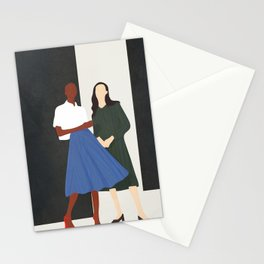 Model Pair Flow Stationery Cards