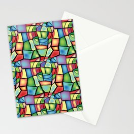 Stained-glass Stationery Cards