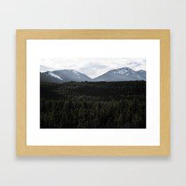 PNW Wonderland Framed Art Print