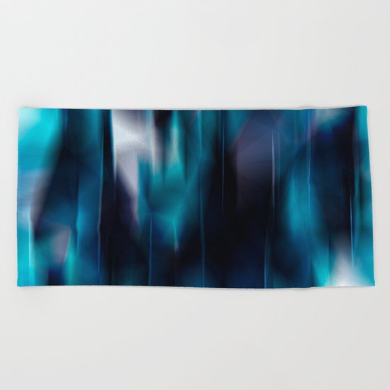 Lights and colors Beach Towel