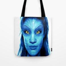 Angelina Jolie Avatar Tote Bag
