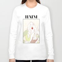 haim Long Sleeve T-shirts featuring Este Haim by chazstity