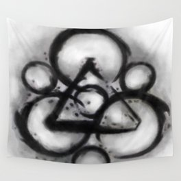 Coheed and Cambria Watercolor Painting  Wall Tapestry