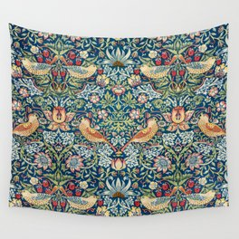 William Morris  Strawberry Thief Wall Tapestry
